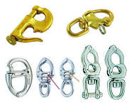 Snap Shackles, Stainless and Bronze