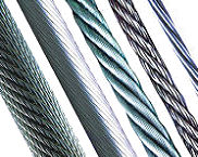 Wire Rope, Stainless, Galvanised and Coated